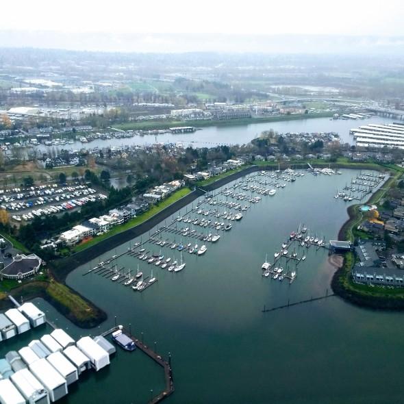 portland birdseye view